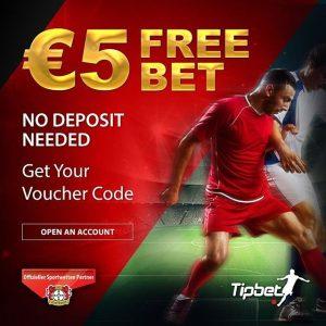 Tipbet-5-euro-free-bet