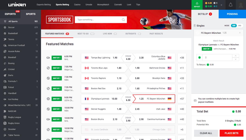 unikrn-sports-betting